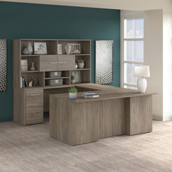 Bush Business Furniture Office 500 Series - Modern Hickory