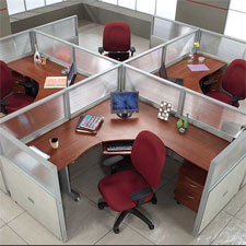 OFM Rize Panel System Workstations