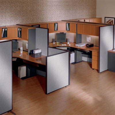 Balt GreatDivide Wall System Bush ProPanel Collection Privacy Office Panels