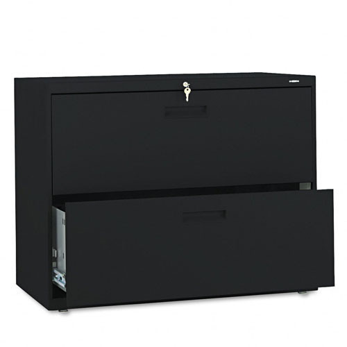 2 Drawer Metal Lateral File Cabinet 582l Image 1