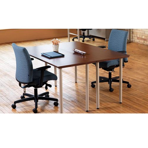 HON Huddle Multipurpose Table Post Legs With Casters MTENPOSTC - Hon table legs