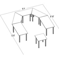 Bush Aspen Conference Table Package 11 - ASPEN11