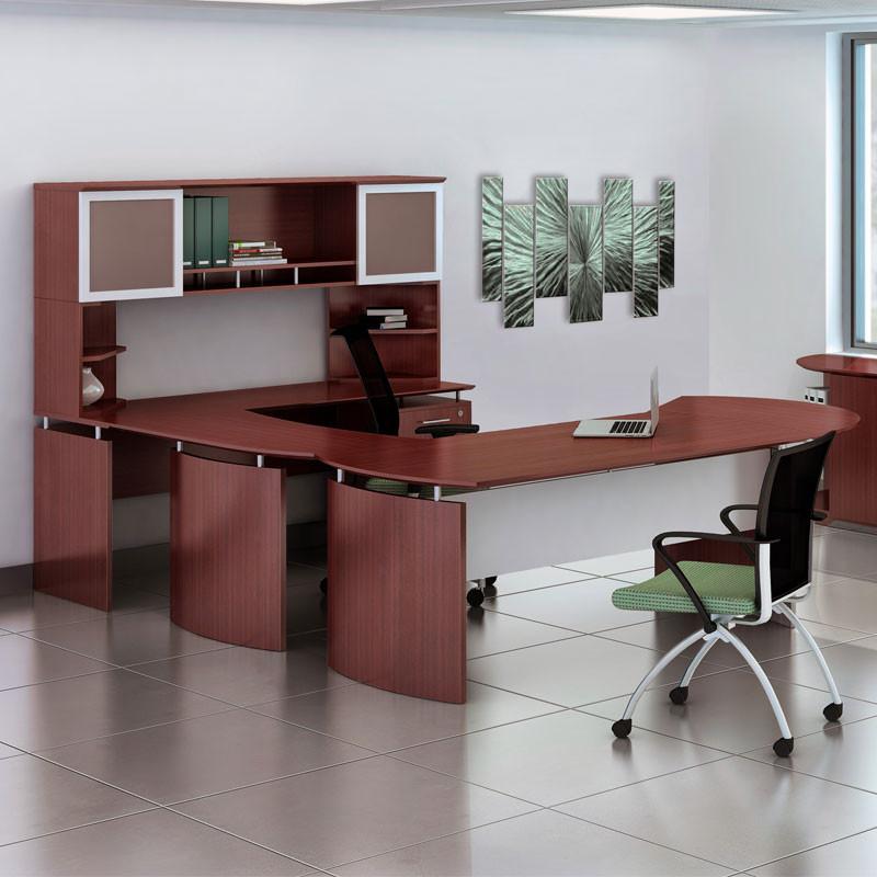 U Shaped Executive Desk Solid State Logic X-desk
