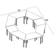 Bush Aspen Conference Table Package 13 - ASPEN13
