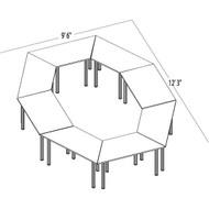 Bush Aspen Conference Table Package 14 - ASPEN14