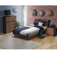 Nexera Nocce 3-Piece Twin Bed Bedroom Collection - 400135