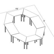 Bush Aspen Conference Table Package 15 - ASPEN15