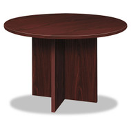 """Basyx by HON Round Laminate Conference Table 48"""" - BLC48D"""
