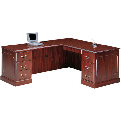 HON L Shaped Desk Workstation With Left Return Free Shipping - Hon computer table