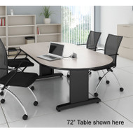 """Mayline CSII Conference Table Racetrack 120"""" x 54"""" - R125V"""