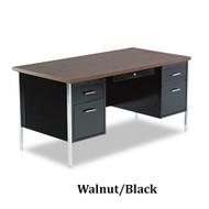 """Alera 60"""" Double Pedestal Steel Desk - SD21-6030"""