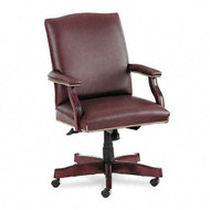 HON Executive Leather Mid Back Swivel Tilt Chair - 6571NSL62