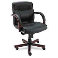 Alera Madaris Series Mid Back Swivel / Tilt Chair - MA42LS10M
