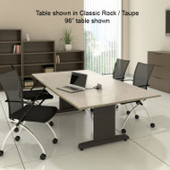 """Mayline CSII Conference Table Rectangle 108"""" x 48"""" - R104R"""