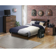 Nexera Nocce 3-Piece Full Size Bed Bedroom Collection - 400136