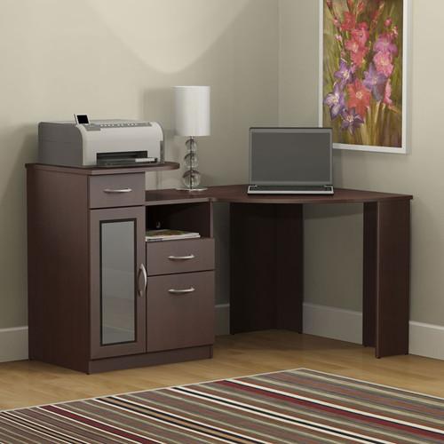 Bush Vantage Corner Computer Desk Harvest Cherry Hm66615a 03 Image 1