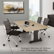 Mayline CSII Conference Table Rectangle 84W x 42D x 29H - R84R