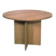 """Correll Melamine Conference Table 42"""" Round - C42DM"""
