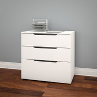 Nexera Arobas Collection 3-Drawer Filing Cabinet - 600303