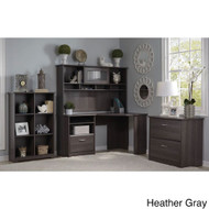Bush Cabot Collection Corner Desk Package - CAB002HRG