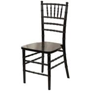 Wooden Chiavari Chair Black (Set of 4) - WCC4-BLK