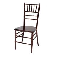Wooden Chiavari Chair Mahogany (Set of 4) - WCC4-MAH