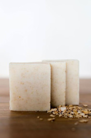 handmade soap Peppermint Oatmeal