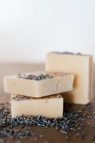 handmade Goat's Milk Soap Lavender