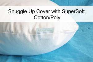 "A Luxurious SuperSoft Cotton/Poly Woven Pillow Cover for ""The Snuggle Up Pillow"""