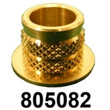 """805082 FOR M5-M8 OR 3/16""""-5/16"""" Compression Limiter CLFR 12.4D x 10H X ID9.3 MATL BRASS INSERT [100 PK]"""