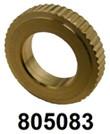 "805083 FOR M5-M6 OR 3/16""-1/4"" CLR 14D x 3H X ID8 MATL BRASS INSERT [100 PK]"
