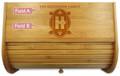 Art Deco Personalized Family Breadbox