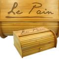 French Breadbox Bamboo Breadbin