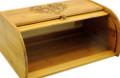 Hearts Bamboo Bread Box