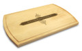 Apothecary 10x16 Grooved Cutting Board Maple Made in USA