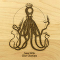 Choptipus 9x12 Grooved Engraved Cutting Board