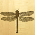 Dragonfly 10x16 Handle Engraved Cutting Board