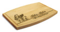Miss Mixer 9x12 Grooved Chopping Board
