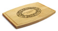 Paisley 9x12 Grooved Maple Cutting Board