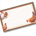 3x5 Chicken Coop Recipe Card