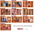 Little Things Bamboo Wood Multikeep Box