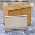 4x6 Recipe Card Silverware Simple  40ea