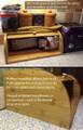 Rolltop Breadbox Bamboo Unengraved