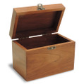 Apothecary Personalized Cherry 4x6 Recipe Card Box