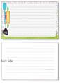 4x6 Recipe Card -Kitchen Rules 36ea