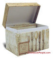 4 x 6 Recipe Box - Perfect Setting
