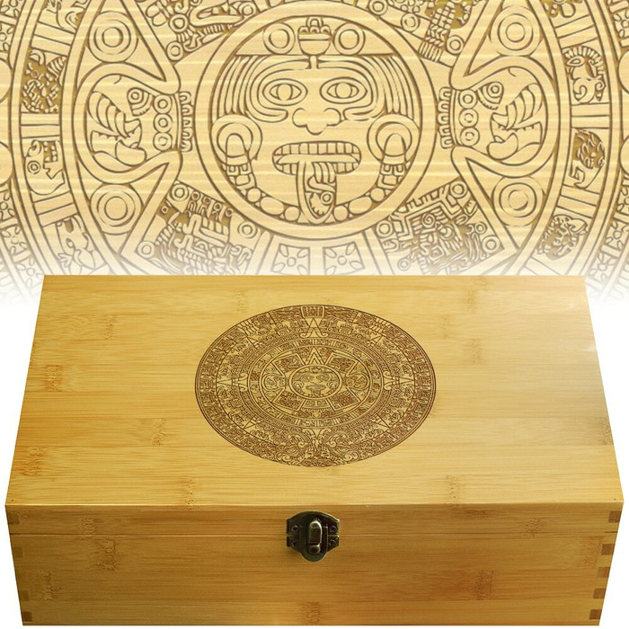 Aztec Engraved Multikeep Box