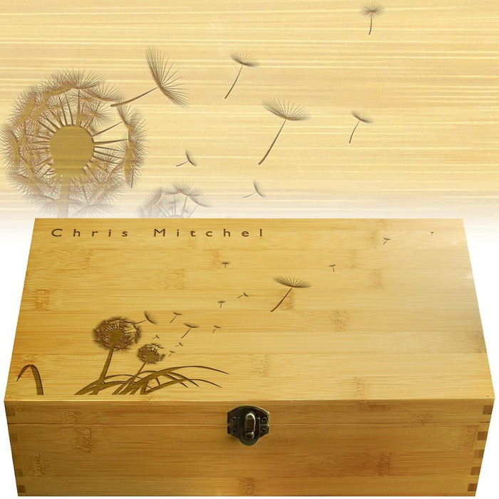 Dandelion Multikeep Personalized Box