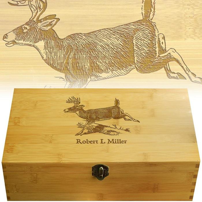 DeerJump Engraved Multikeep Box