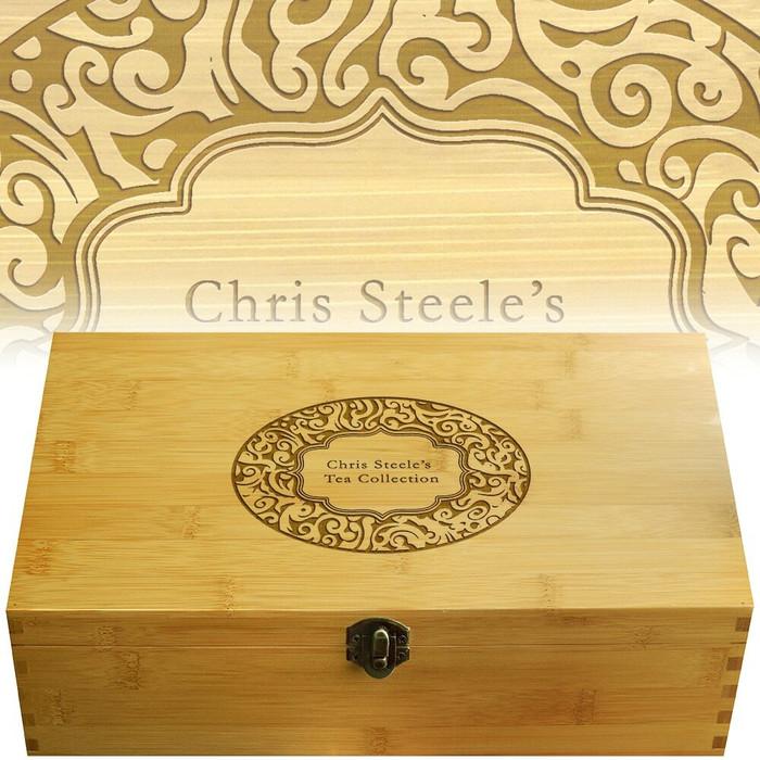 Paisley Multikeep Tea Box